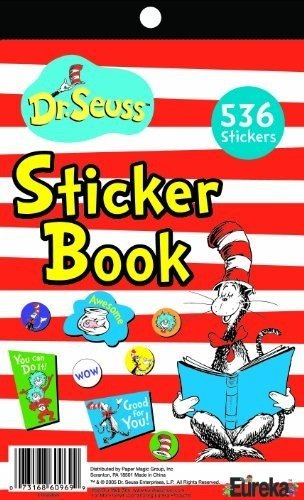 Eureka Cat in The Hat Educational Fun Stickers