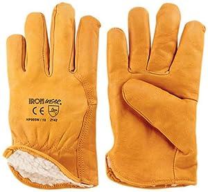 ironside 351215 gants de travail hiver avec doublure cuir de boeuf import allemagne. Black Bedroom Furniture Sets. Home Design Ideas