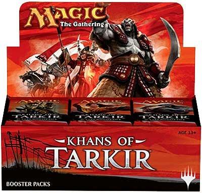 Mtg Magic The Gathering Khans Of Tarkir Ktk Prerelease Kits All 5 Set - 30 Booster Packs + Foils! front-817385