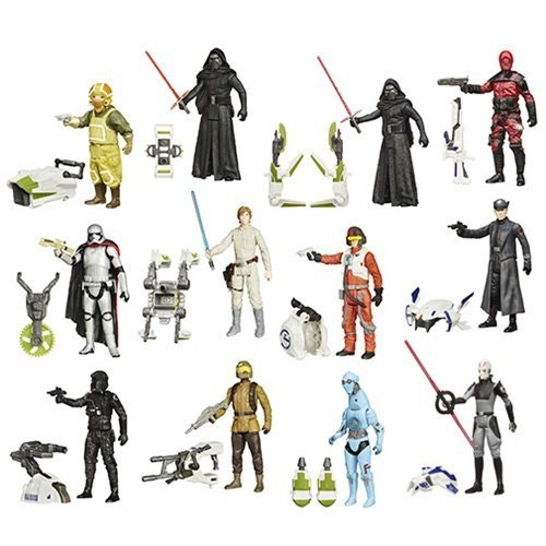 Star-Wars-The-Force-Awakens-3-34-Inch-Jungle-and-Space-Action-Figures-Wave-3-Case-of-12
