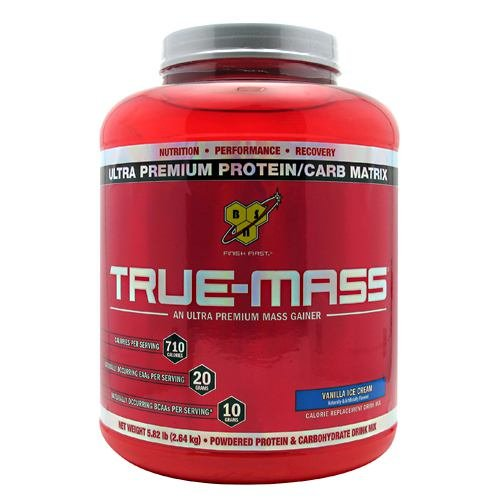 True Mass Vanilla Ice Cream - 5.82 lb - Powder