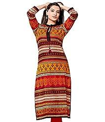 The Style Story Multicolor Designer Cotton Kurti