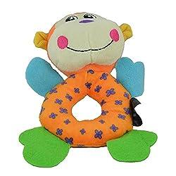 Heads Up For Tails Monkey Plush Dog Toy