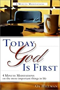 Cover of &quot;Today God Is First&quot;