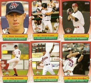 2005 NY Penn League Top Prospects Mets Team Set 2 Cards BROOKLYN CYCLONES Mint by Choice