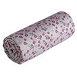 Diseño de Minions' una sábana bajera ajustable de tit Basile impresa de la caja de la, de mi de la noche diseño de mariposas y flores 60 x 120 cm