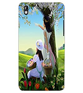 HTC DESIRE 816 FRIENDS Back Cover by PRINTSWAG