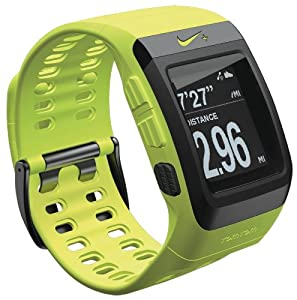 Nike+ SportWatch GPS Uhr powered by TomTom,Volt (Gelb), Modell 2012