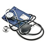 Belmalia Blutdruckmessgerät mit Doppelkopf Stethoskop,...