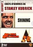 echange, troc Chefs d'oeuvre de Stanley Kubrick, Vol.1 : Shining / Orange mécanique - Coffret 2 DVD