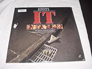 "Laserdisc Stephen King's IT ""IT"" Starring Harry Anderson, Dennis Christopher, Richard Masur, Annette O'toole, Tim Reid, John ritter, and Richard Thomas"