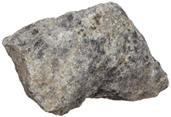 American Educational Gray Coarse-Grained Anorthosite Igneous Rock, 10 Pieces