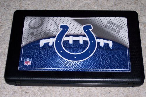 "Indianapolis Colts Logo FATHEAD Tablet Laptop Skin Cover Official NFL Vinyl Wall Graphic 12"" at Amazon.com"
