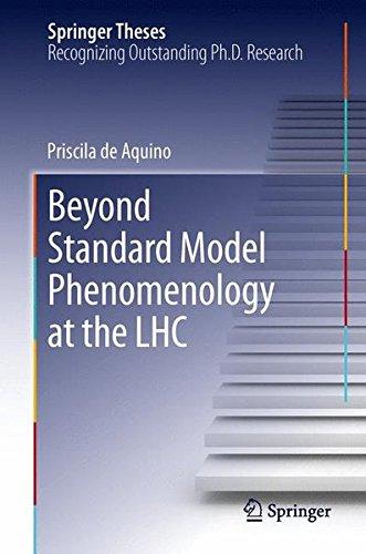 Beyond Standard Model Phenomenology at the LHC (Springer Theses) PDF