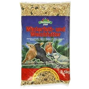 Dehner Winterfett- und Weichfutter für Weichfresser, 4 x 2,5 kg, 1er Pack (1 x 10 kg)