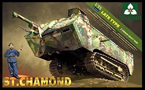 Takom FHT ST Chamond Late Type Model Kit (1/35 Scale)
