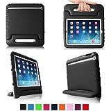 Fintie iPad mini 1/2/3 Kiddie Case - Light Weight Shock Proof Convertible Handle Stand Kids Friendly for Apple iPad mini 1 / iPad mini 2 / iPad mini 3, Black