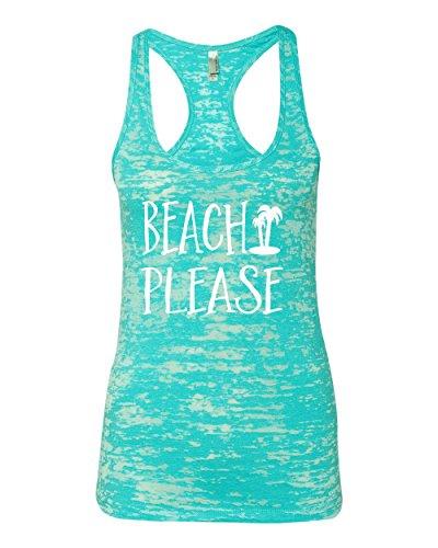 Beach-Tank-Top-Beach-Please-Womens-Burnout-Racerback-Tank-Small-Tahiti-Blue