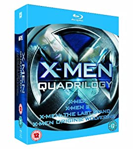 X-Men Quadrilogy - X-Men, X-Men 2, X-Men: The Last Stand, X-Men Origins: Wolverine [Blu-ray]
