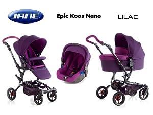 Silla de paseo Epic Koos Nano Lilac