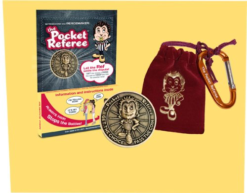 The Pocket Referee Antique Coin- A Fun Solution for Kids to Use to Resolve Every Day Conflicts