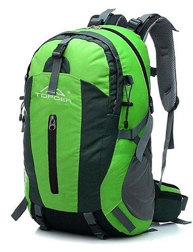 LEBULI@ Travel Backpack zaini Tuobu ® 45l campeggio trekking impermeabili alla moda con sepension unisex , fuchsia-50lb , fuchsia-50lb GUOI-68
