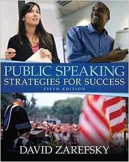 PUBLIC STRATEGIES SUCCESS FOR SPEAKING