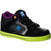 ディーシー DC Radar Skate Shoe - Boys' Black Multi アウトドア キッズ 子供 男の子 ブーツ 靴 シューズ 並行輸入