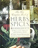 img - for The New Complete Book of Herbs, Spices & Condiments: A Nutritional, Medical, and Culinary Guide book / textbook / text book