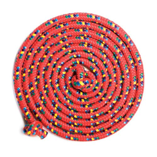 Red Confetti 8' Jump Rope