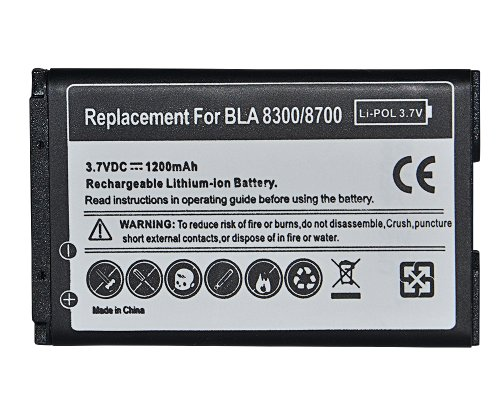 Ersatz Batterie Akku C-S2 für Blackberry Curve 8520 8320 8310 8300