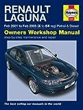 Renault Laguna 1.6 1.8 2.0 16V RT RXE Expression Petrol & 1.9 2.0 2.2 DCi Dynamique Expression Diesel 2000 - 2007 Haynes Manual