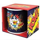 DC Comics Wonder Woman Coffee Mug with Wonder Woman Pow! Caption - in gift box packaging