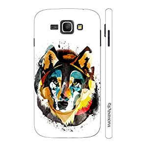 Enthopia Designer Hardshell Case Win for the Wolf Back Cover for Samsung Galaxy J1 (2016)