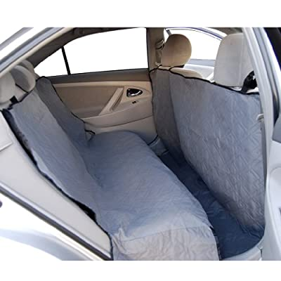 Yes4All Suv Truck Sedan Car Waterproof Hammock Back Seat Cover for Dogs Cats Pets. Padded and Quilted