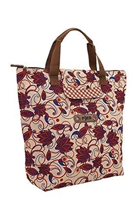 F|23 Andiamo faltbare Einkaufstasche, 24 Liters, Blumen