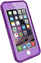 "LifeProof FRE iPhone 6 ONLY Case (4.7"" Version), Retail Packaging, PUMPED PURPLE (LIGHT LILAC/DARK LILAC)"