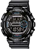 Casio GD-110-1ER - Reloj digital de cuarzo para hombre con correa de resina, color negro