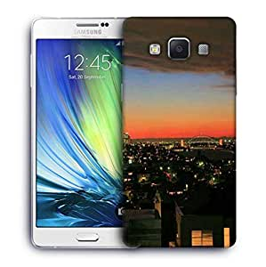 Snoogg Colorful City Designer Protective Phone Back Case Cover For Samsung Galaxy ON5
