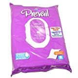 "Prevail Quilted Cotton Adult Disposable Large (12"" x 8"") Washcloths with Lotion 48 CT"