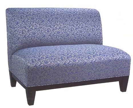 AC Furniture 8402 Loveseat w/ Wood Base Upholstered Spring Back & Seat - Grade 1, 8402-grade1, 8402 grade1, 8402grade1
