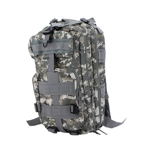 Sport Outdoor Military Rucksacks Tactical Molle Backpack Camping Hiking Trekking Bag (ACU Camouflage)