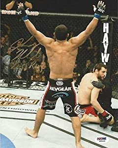 Johny Hendricks Signed UFC 8x10 Photo COA Picture Autograph 171 167 141 - PSA/DNA Certified - Autographed UFC Photos