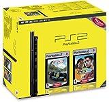 echange, troc Console Playstation 2 + F1 06 Platinum + PES 08 Platinum