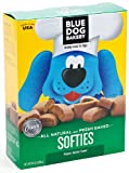 Blue Dog Bakery Natural Soft Dog Treats, Peanut Butter Flavor Softies, 10-Ounce Boxes (Pack of 6)