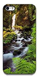 The Racoon Grip printed designer hard back mobile phone case cover for Apple Iphone 5/5s. (NATURE)