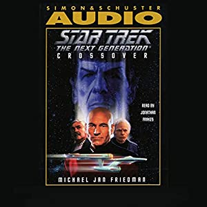 Star Trek, The Next Generation: Crossover (Adapted) Audiobook