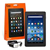 "Fire Tablet, 7"" Display, Wi-Fi, 8 GB - Includes Special Offers, Black"
