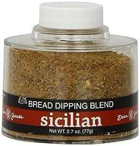 Dean Jacob's Sicilian Bread Dipping Seasoning,2.7 oz jar