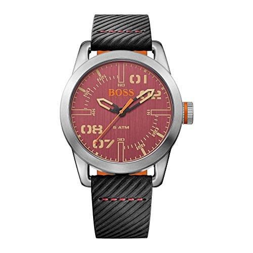 Hugo Boss Orange Hombre Reloj analógico cuarzo piel Negro ho1513416